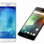 One plus 2 Vs Samsung galaxy A8