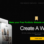 Make your Free Portfolio Website with Website-Builder.com