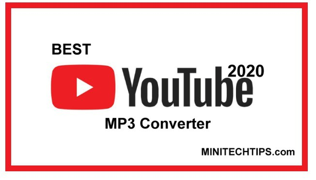 The best and free YouTube to MP3 converters in 2020